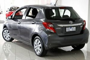 2014 Toyota Yaris NCP130R Ascent Graphite 4 Speed Automatic Hatchback