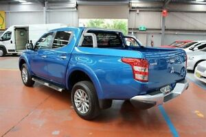 2015 Mitsubishi Triton MQ MY16 Exceed Double Cab Blue 5 Speed Sports Automatic Utility Maryville Newcastle Area Preview