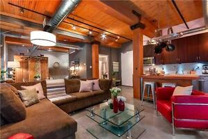 NYC Style Industrial Brick & Beam Loft- Incredible Unit & Must S