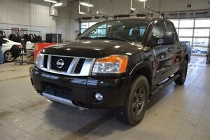 2015 Nissan Titan PRO-4X CREWCAB 4X4 Navigation (GPS),  Leather,