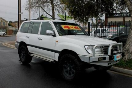 2004 Toyota Landcruiser UZJ100R GXL (4x4) White 5 Speed Automatic Wagon