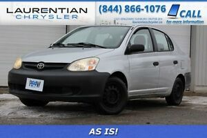2005 Toyota Echo-MANUAL TRANS -AS IS-