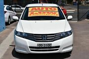 2010 Honda City GM MY10 VTi White 5 Speed Automatic Sedan Enfield Port Adelaide Area Preview