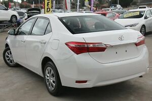 2015 Toyota Corolla ZRE172R Ascent White 7 Speed CVT Auto Sequential Sedan
