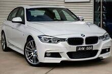 2015 BMW 318I F30 LCI M Sport White 8 Speed Sports Automatic Sedan Mitchell Park Ballarat City Preview