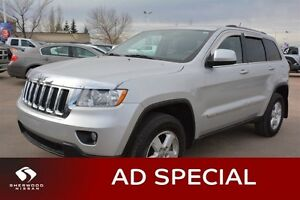 2012 Jeep Grand Cherokee LAREDO AWD Bluetooth,  A/C,