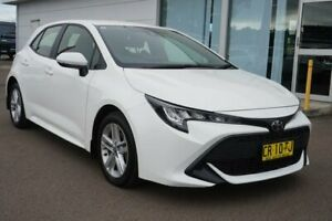 2018 Toyota Corolla Mzea12R Ascent Sport White 10 Speed Constant Variable Hatchback Cardiff Lake Macquarie Area Preview