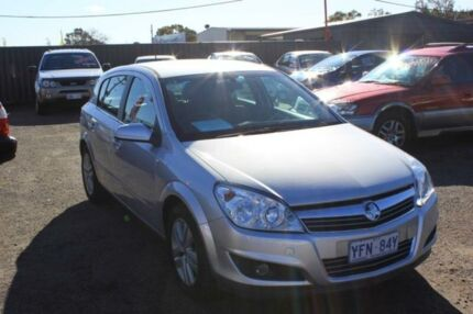 2008 Holden Astra AH MY08.5 CDX Silver 5 Speed Manual Hatchback Mitchell Gungahlin Area Preview