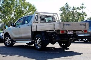 2014 Mazda BT-50 UP0YF1 GT Sparkling Gold 6 Speed Manual Utility Gympie Gympie Area Preview