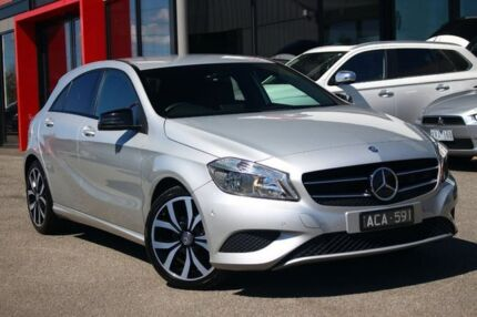 2014 Mercedes-Benz A180 W176 D-CT Silver 7 Speed Sports Automatic Dual Clutch Hatchback Frankston Frankston Area Preview