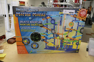 **400 PIECES** Techno Gears Marble Mania Galactic Adventure