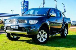 2013 Mitsubishi Triton MN MY13 GLX-R Double Cab Grey 5 Speed Sports Automatic Utility Wangara Wanneroo Area Preview