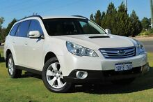 2009 Subaru Outback B5A MY10 2.0D AWD White 6 Speed Manual Wagon Wangara Wanneroo Area Preview