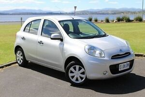 2014 Nissan Micra K13 Series 4 MY15 ST Silver 4 Speed Automatic Hatchback Invermay Launceston Area Preview