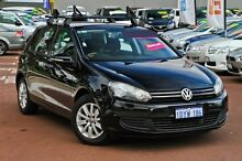 2012 Volkswagen Golf VI MY12.5 90TSI Trendline Black 6 Speed Manual Hatchback Cannington Canning Area Preview