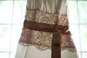 """Ivory, Gold, Lace - Maggie Sottero """"The Camden"""" Dress London Ontario image 4"""