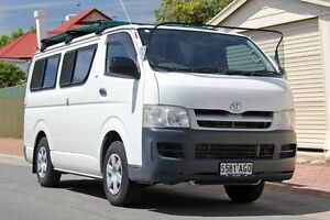 2006 Toyota Hiace TRH201R LWB White 4 Speed Automatic Van Glenelg Holdfast Bay Preview