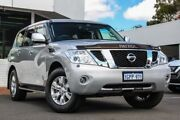 2015 Nissan Patrol Y62 TI-L Silver 7 Speed Sports Automatic Wagon Victoria Park Victoria Park Area Preview