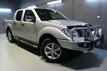 2014 Nissan Navara D40 S5 MY12 ST-X 550 Silver 7 Speed Sports Automatic Utility Launceston Launceston Area Preview