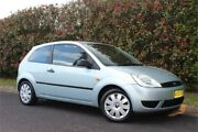 2004 Ford Fiesta WP LX Silver 5 Speed Manual Hatchback West Gosford Gosford Area Preview