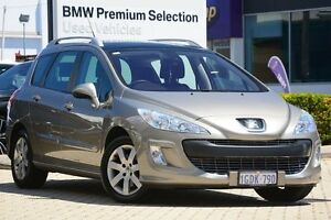2010 Peugeot 308 T7 XS HDI Touring Gold 6 Speed Sports Automatic Wagon Victoria Park Victoria Park Area Preview