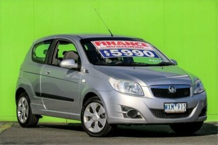2009 Holden Barina TK MY09 Silver 5 Speed Manual Hatchback Ringwood East Maroondah Area Preview