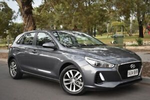 2017 Hyundai i30 PD MY18 Active Grey 6 Speed Sports Automatic Hatchback St Marys Mitcham Area Preview