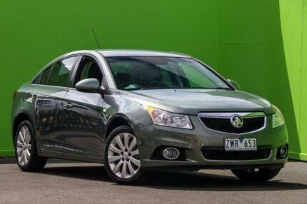 2013 Holden Cruze JH Series II MY13 CDX Grey 6 Speed Sports Automatic Sedan Ringwood East Maroondah Area Preview