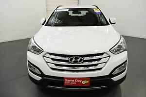 2015 Hyundai Santa Fe DM MY15 Active CRDi (4x4) White 6 Speed Automatic Wagon Moorabbin Kingston Area Preview