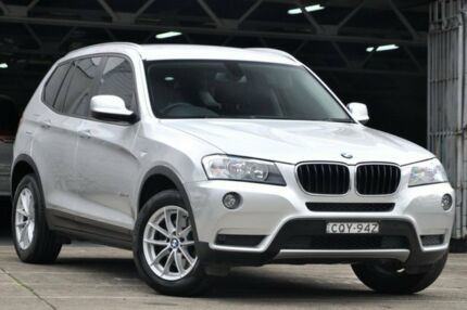 2013 BMW X3 F25 Xdrive 20I Silver 8 Speed Automatic Wagon Mosman Mosman Area Preview