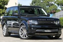2011 Land Rover Range Rover MY12 Sport 3.0 SDV6 Black 6 Speed Automatic Wagon Petersham Marrickville Area Preview