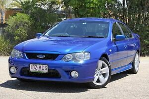 2006 Ford Falcon BF XR6 Blue 4 Speed Sports Automatic Sedan Underwood Logan Area Preview