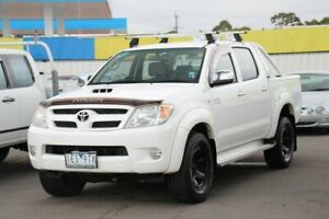2008 Toyota Hilux KUN26R MY08 SR5 White 4 Speed Automatic Utility Cheltenham Kingston Area Preview
