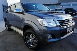 2013 Toyota Hilux KUN26R MY14 SR5 Double Cab Grey 5 Speed Manual Utility Pearce Woden Valley Preview