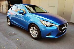 2015 Mazda 2 DJ2HAA Neo SKYACTIV-Drive Light Blue 6 Speed Sports Automatic Hatchback Haymarket Inner Sydney Preview