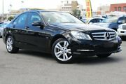 2012 Mercedes-Benz C200 W204 MY12 BlueEFFICIENCY 7G-Tronic + Black 7 Speed Sports Automatic Sedan Northbridge Perth City Area Preview