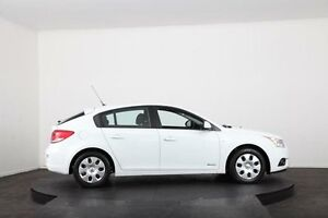 2011 Holden Cruze JH MY12 CD White 6 Speed Automatic Hatchback McGraths Hill Hawkesbury Area Preview