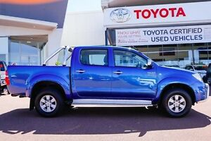 2009 Toyota Hilux KUN26R MY09 SR5 Tidal Blue 4 Speed Automatic Utility Wangara Wanneroo Area Preview
