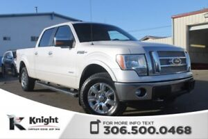 2011 Ford F-150 Lariat - Heated and Cooled Leather Seats - Back-