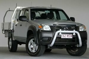 2009 Mazda BT-50 08 Upgrade B3000 DX Silver 5 Speed Manual Dual Cab Pick-up Coopers Plains Brisbane South West Preview