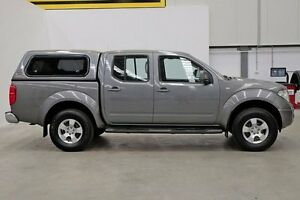 2010 Nissan Navara D40 ST Grey 6 Speed Manual Utility Seven Hills Blacktown Area Preview