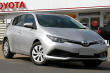 2015 Toyota Corolla ZRE182R Ascent S-CVT Silver 7 Speed Constant Variable Hatchback Woolloongabba Brisbane South West Preview
