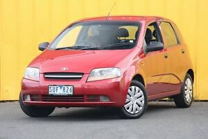 2004 Daewoo Kalos T200 Red 4 Speed Automatic Hatchback Heatherton Kingston Area Preview