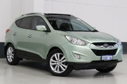 2011 Hyundai ix35 LM MY11 Highlander (AWD) Green 6 Speed Automatic Wagon