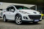 2011 Peugeot 207 A7 Series II MY10 Outdoor Touring White 4 Speed Sports Automatic Wagon Osborne Park Stirling Area Preview