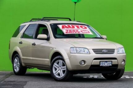 2006 Ford Territory SY Ghia Gold 4 Speed Sports Automatic Wagon Ringwood East Maroondah Area Preview