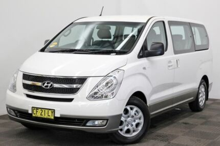 2015 Hyundai iMAX TQ-W MY15 White 5 Speed Automatic Wagon Seven Hills Blacktown Area Preview