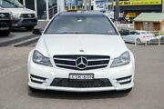 2012 Mercedes-Benz C250 C204 BlueEFFICIENCY 7G-Tronic + White 7 Speed Sports Automatic Coupe Brookvale Manly Area Preview