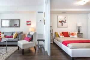 1 Bed – Condo-style suites w/ in-suite laundry & A/C. Call now