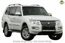 2015 Mitsubishi Pajero NX MY15 Exceed White 5 Speed Sports Automatic Wagon Greenacre Bankstown Area Preview